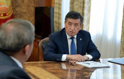Сооронбай Жээнбеков: Азык-түлүк коопсуздугу өлкөнүн улуттук коопсуздугунун маанилүү бир бөлүгү