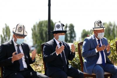 Төрага Дастанбек Жумабеков 2010 - жылдагы июнь окуясында каза болгондорду эскерди