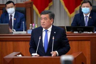 Президент пандемияга жана шайлоолорго байланыштуу кыргызстандыктарга кайрылды