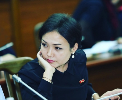 Аида Касымалиева жети медицина кызматкеринин үй-бүлөсүн шефтикке алды