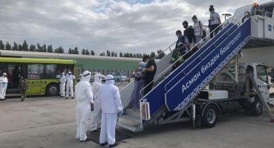 Түркиядан 326 кыргызстандык учуп келди