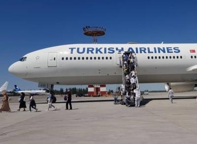 Түркиядан 330 мекендешибиз Кыргызстанга келди