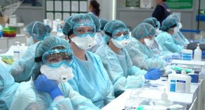 Коронавируска каршы күрөшкө тартылган медицина кызматкерлеринин кенемте төлөмдөрү көбөйтүлүүдө