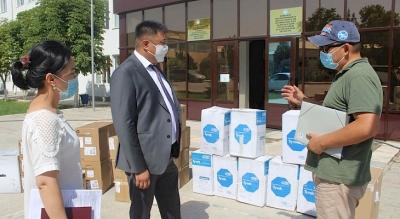Европа Коопсуздук жана Кызматташтык Уюму Баткенге медициналык каражаттарды тапшырды