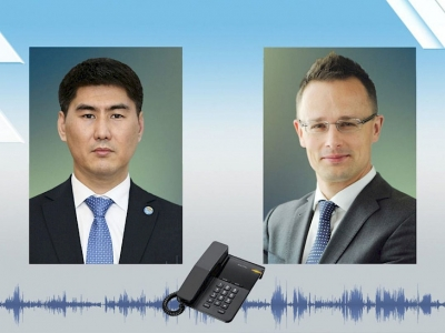 Айдарбеков Венгриянын ТИМ башчысы менен телефон аркылуу сүйлөштү