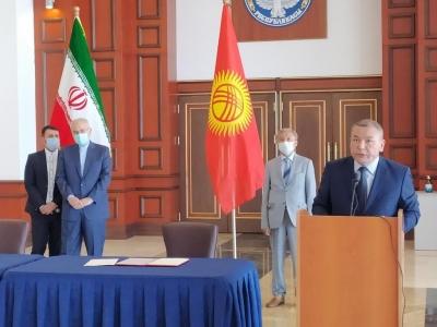 Ирандан Кыргызстанга гуманитардык жардам келди