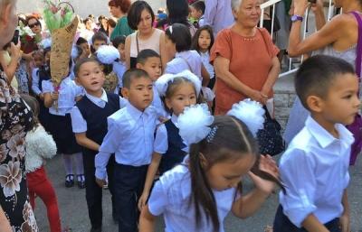 Бишкекте 12миңден ашуун бала 1-класска катталды