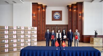 Кыргызстанга Кытайдан үчүнчү ирет гумжардам келди