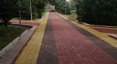 М.Горький атындагы гүл бакчаны реконструкциялоо жыйынтыкталды
