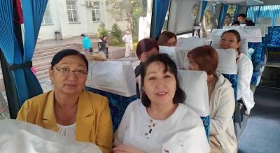 260 медик Ысык-Көлгө эс алууга жөнөп кетти