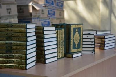 Медина шаарынан 34 миң даана Куран китеп келди