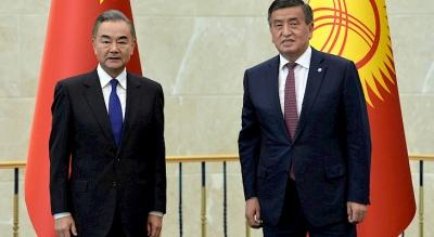 Жээнбеков Кытайдын тышкы иштер министрин кабыл алды