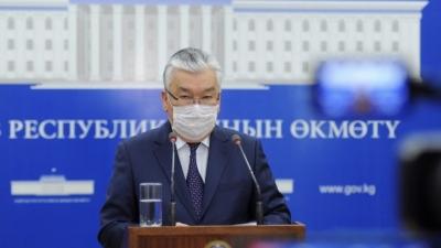 Абдикаримов: Жеке коргонуучу каражаттардын 3 айлык запасы бар