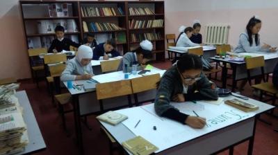 """Бишкекте """"Китеп-билим булагы"""" сынагы өтүүдө"""