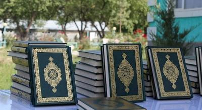 Баткен облусуна 4 миңден ашык Куран китеби берилди
