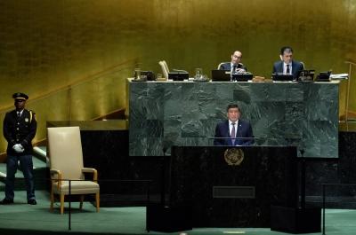 Президент Башкы Ассамблеянын сессиясында онлайн режиминде чыгып сүйлөйт