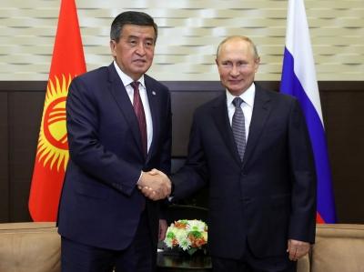 Кыргызстан менен Россиянын кызматташтыгы мындан ары дагы бекемделет