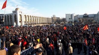 Кыргызстан эл ассамблеясы бардык күчтөрдү мыйзам жолуна чакырды