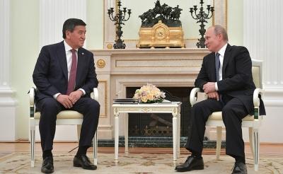 Жээнбеков Путинди туулган күнү менен куттуктады