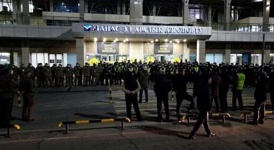"""Манас"""" аэропортун авиациянын 500дөн ашуун кызматкери кайтарууда"""