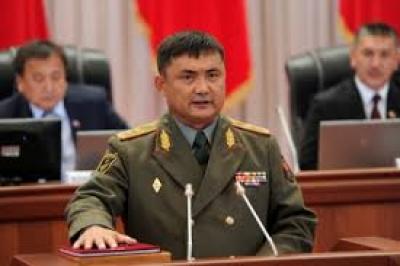 Генералдык штабдын башчысы Өмүралиев болду