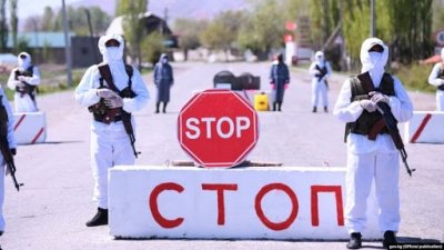 Жээнбеков Бишкектин аймагына кайрадан өзгөчө абал режимин киргизди