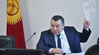 Балбак Түлөбаев Садыр Жапаров менен жолукту