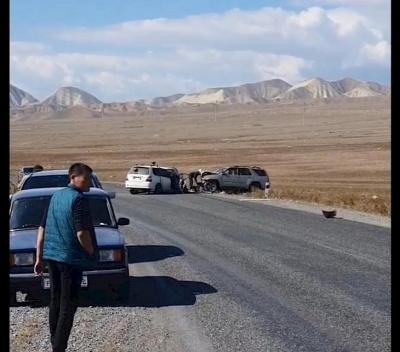 Бишкек-Ош жолундагы кырсыктан үч адам каза болду