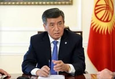Президент депутаттарга Жапаровго байланыштуу маселени кароону сунуштады
