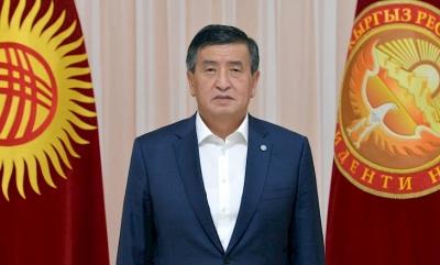 Президент Сооронбай Жээнбеков: Мен отставкага кетүү чечимин кабыл алдым