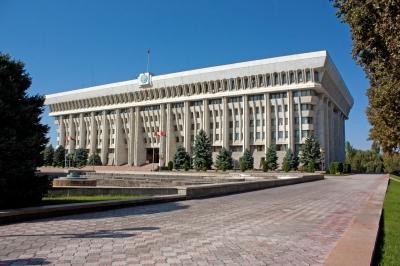 Жогорку Кеңештин депутаттарынын жыйыны Ак үйдө өтүп жатат