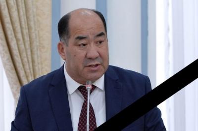 Мурдакы билим берүү министри Каныбек Исаков дүйнө салды
