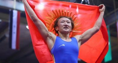 """Айсулуу Тыныбекова дүйнө жүзү боюнча """"Мыкты спортчу айым"""" наамына ээ болду"""