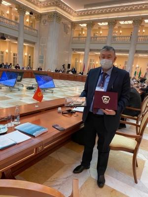 Орусия Кыргыз өлкөсүнө мобилдик лаборатория тапшырды