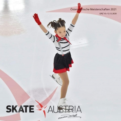 Кыргыз кызы көркөм муз тебүү боюнча Австриянын чемпиону болду