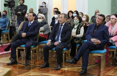 Залкар опера ырчысы Артык Мырзабаевдин 90 жылдыгына арналган эскерүү кече-концерти өттү