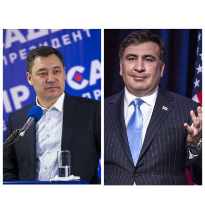 """Михаил Саакашвили, Грузин реформатору: """"Садыр Жапаров эли, өлкөсү үчүн күрөш эмне экенин жакшы түшүнөт"""""""