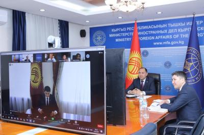 Марипов «IT Expo Connect.KG» иш-чарасынын ачылыш аземине катышты