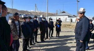 Премьер Марипов акимдерге: Калктын маселесин чече албагандар  ордун бошотушу керек