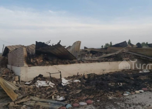 Кыргызстан чек арадагы кооганын чыгымдарын эсептей баштады