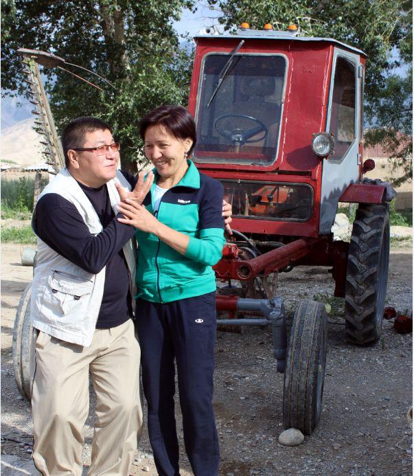 """Назира СААЛИЕВА, журналист:  """"Сага деген сагынычым ашып-ташып, күндөн-күнгө баратам өӊдөн азып..."""""""
