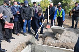 Жогорку Кеңештин Төрагасы Талант Мамытов Жалал-Абадда иш сапары менен